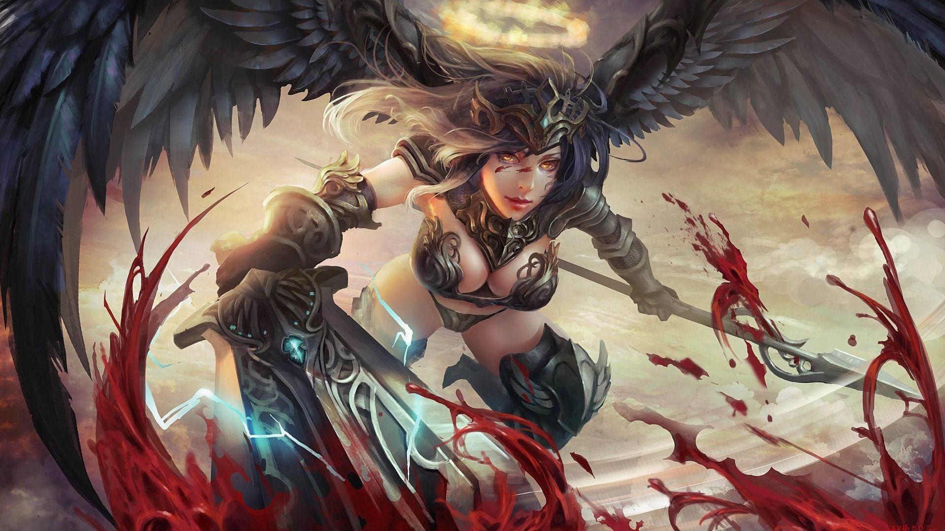 32 Angels Vs Demons Wallpapers Wallpaperboat