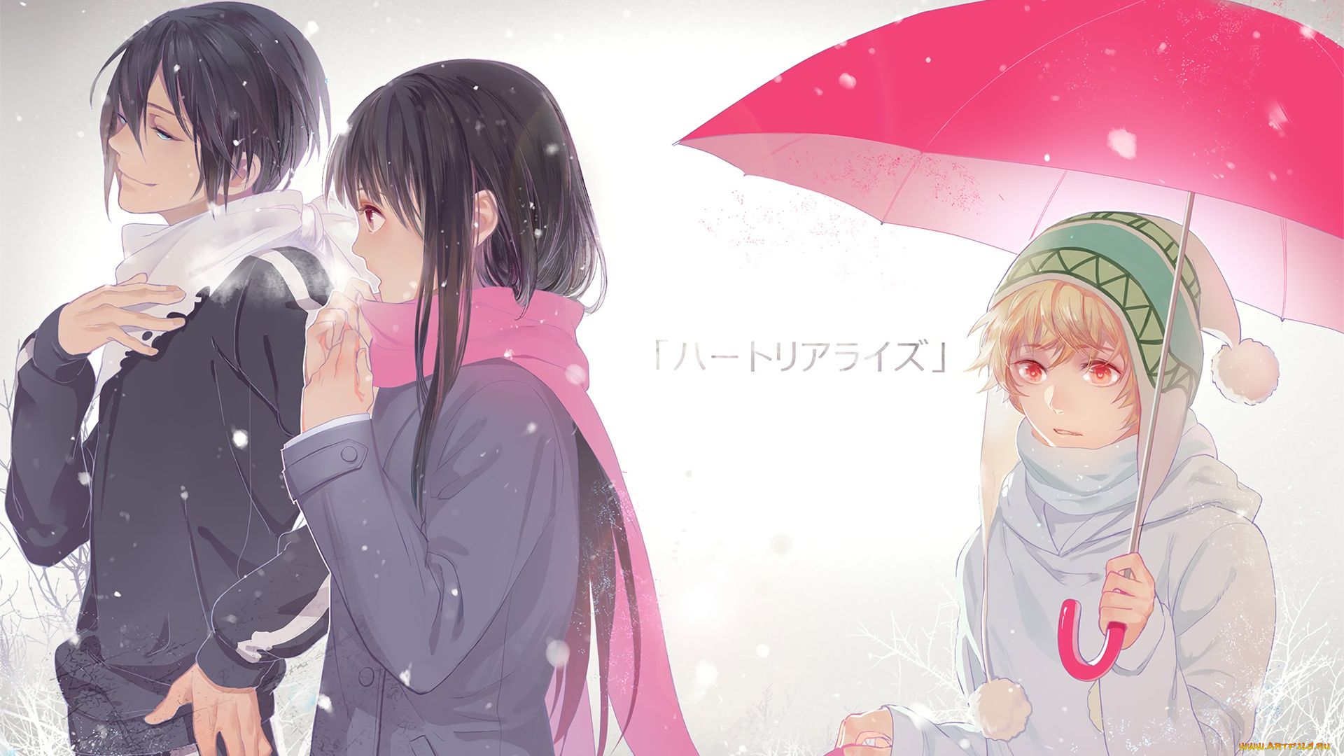 Pictures Anime Homeless God Yato And Chieri