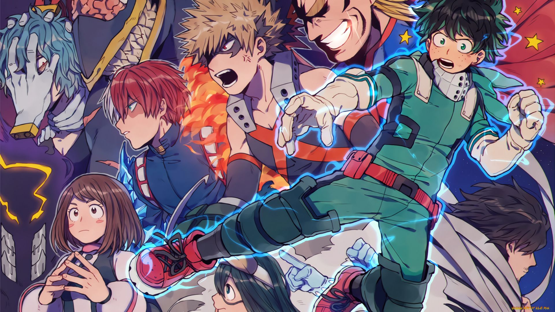 Pictures Anime My Hero Academy