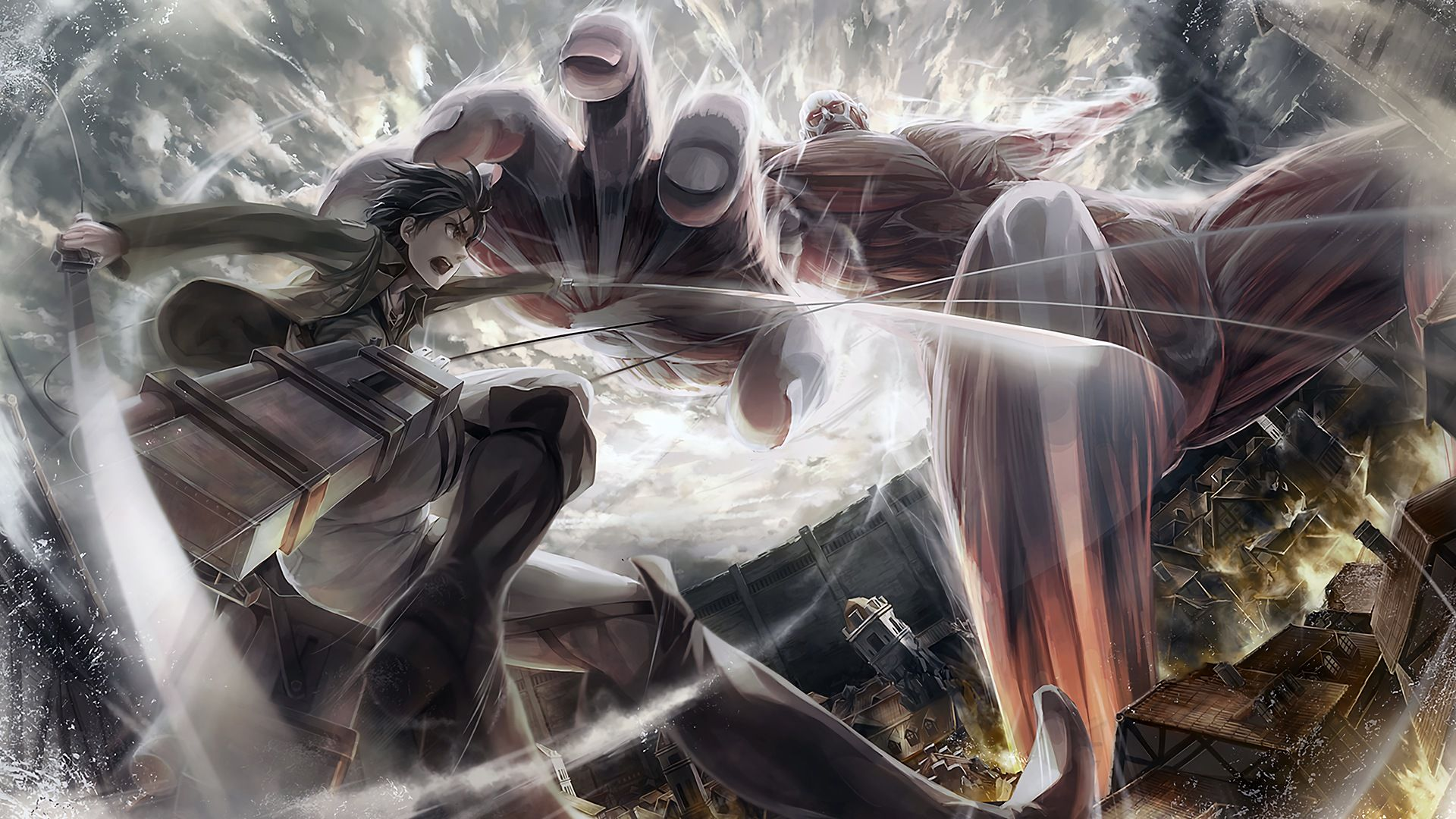 Pictures Attack On Titan Art