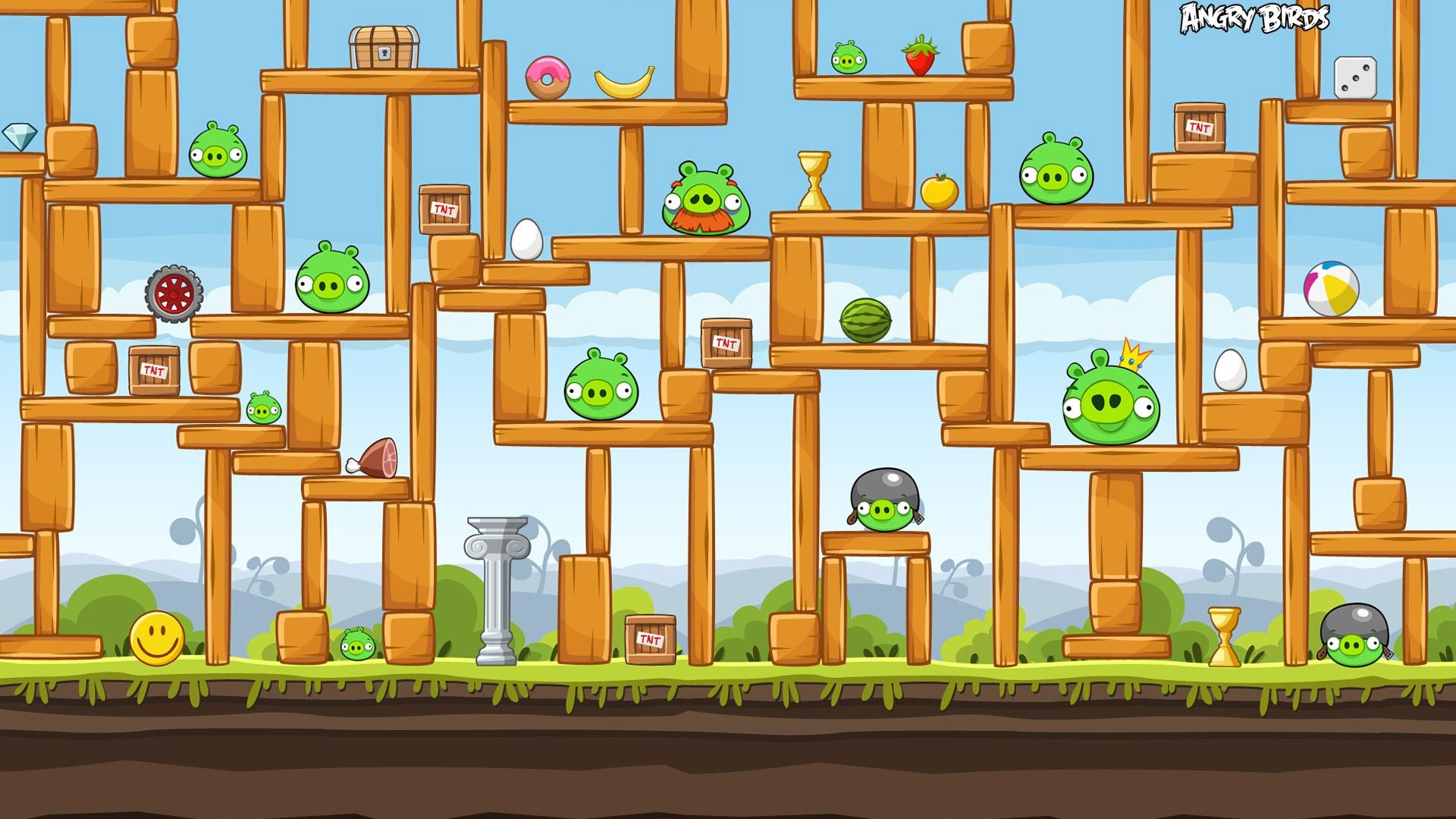 Pictures From The Game Angry Birds