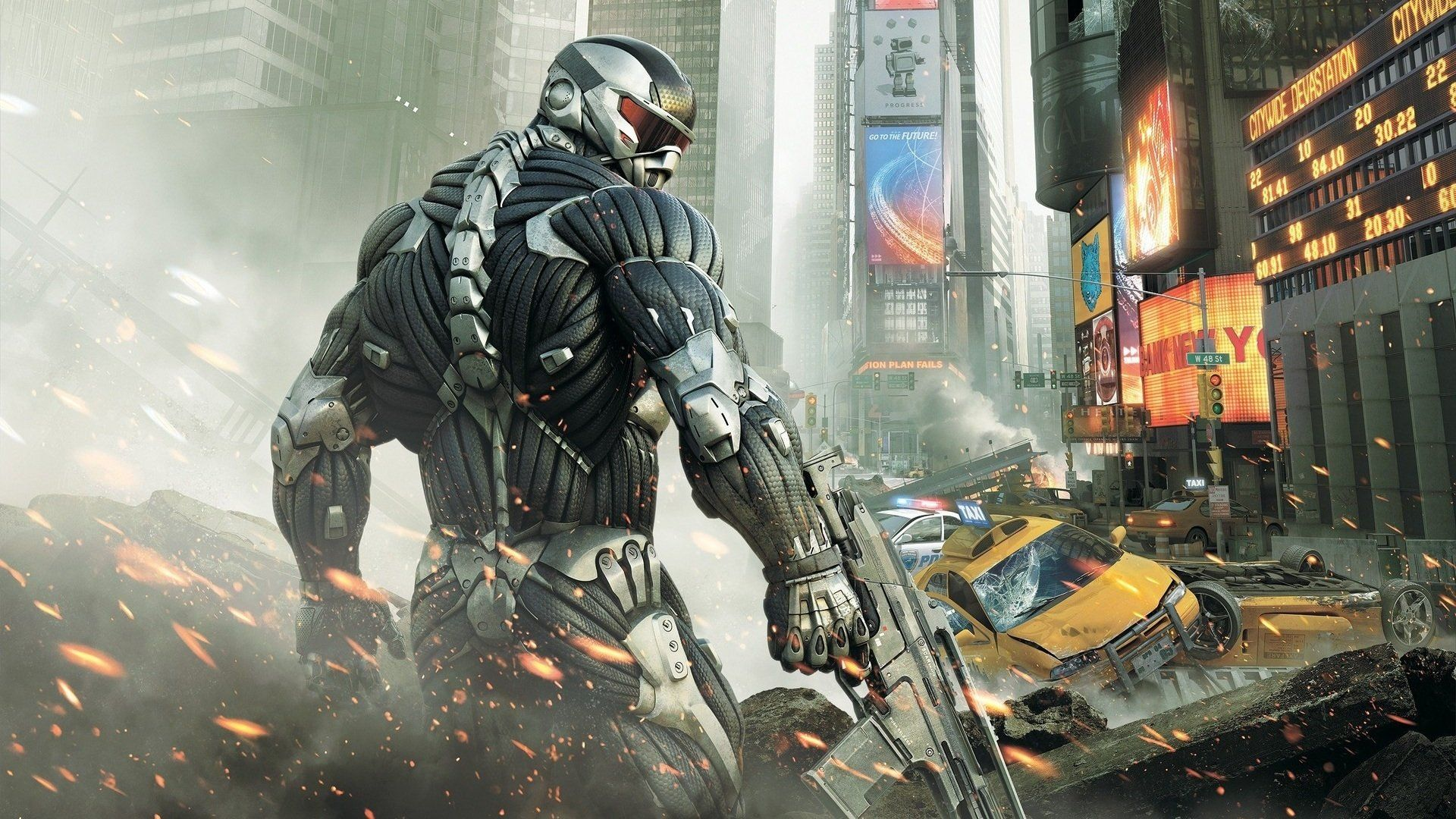 Pictures From The Game Crysis 2