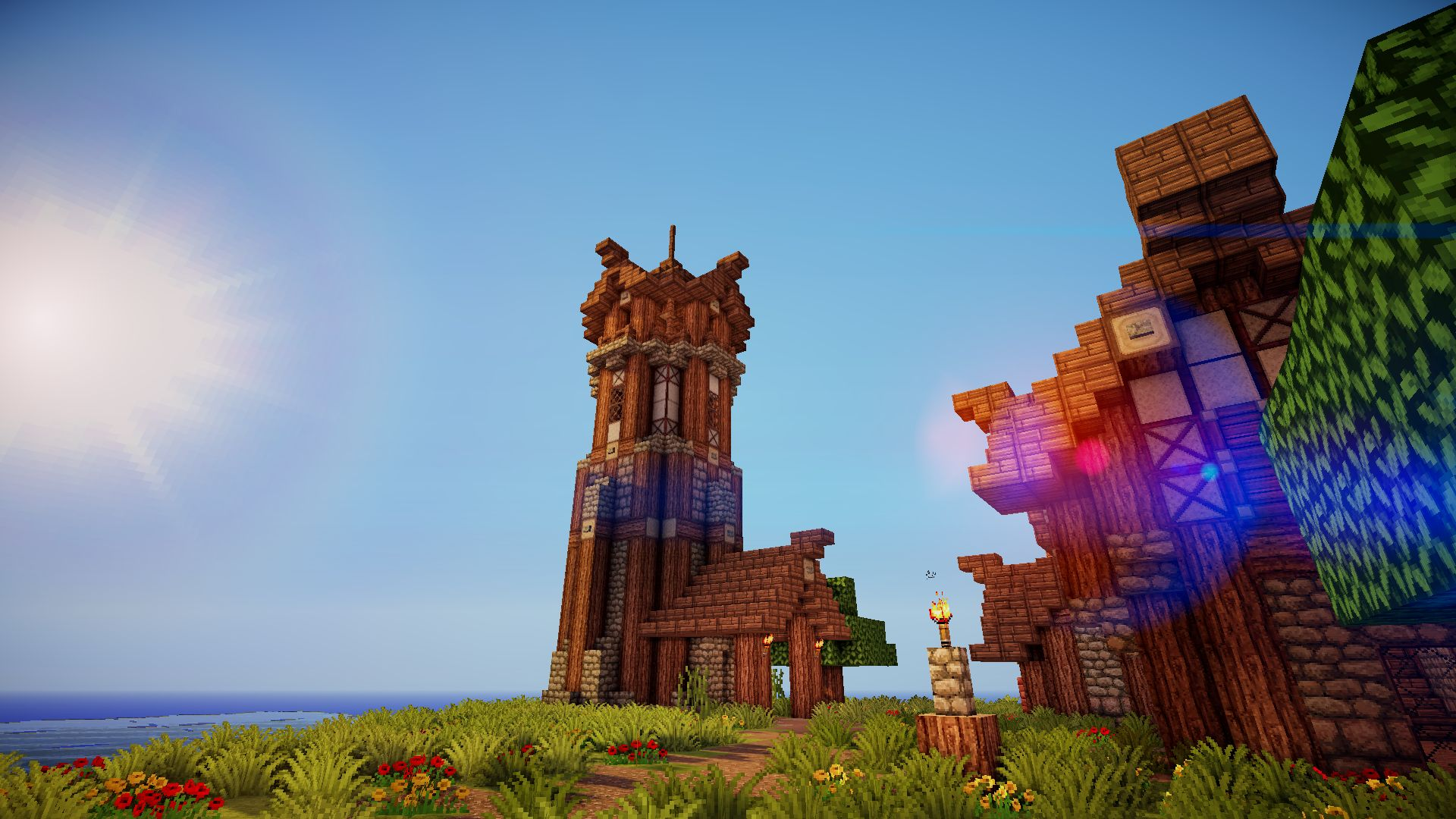 Pictures Minecraft With Shaders
