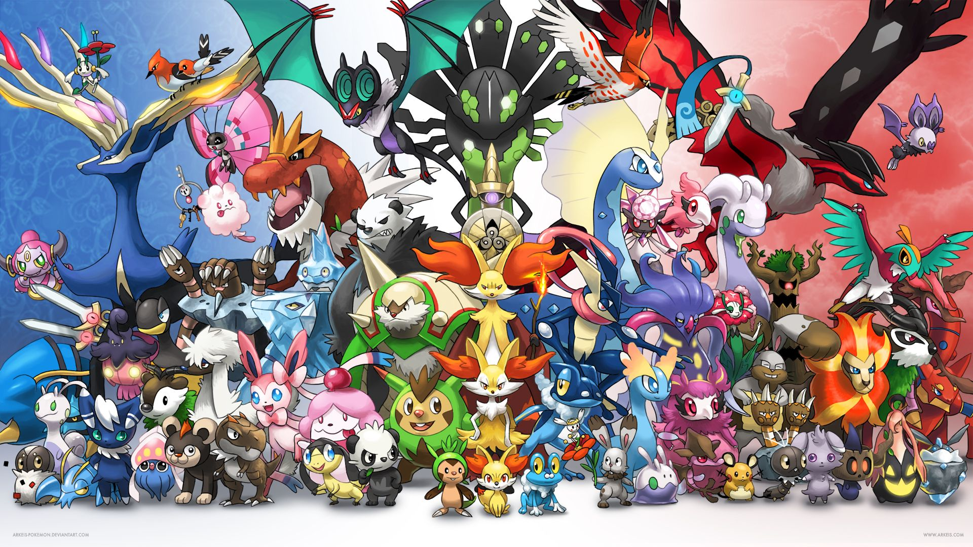 Pictures Of All Pokemon