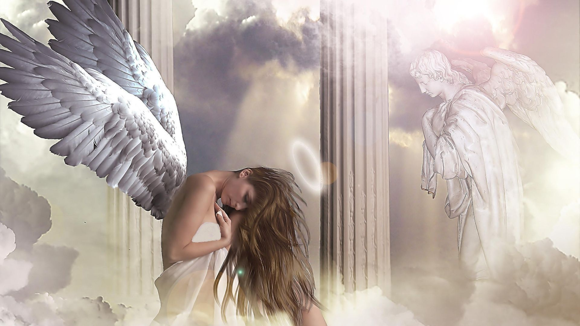 Pictures Of Angels With Wings