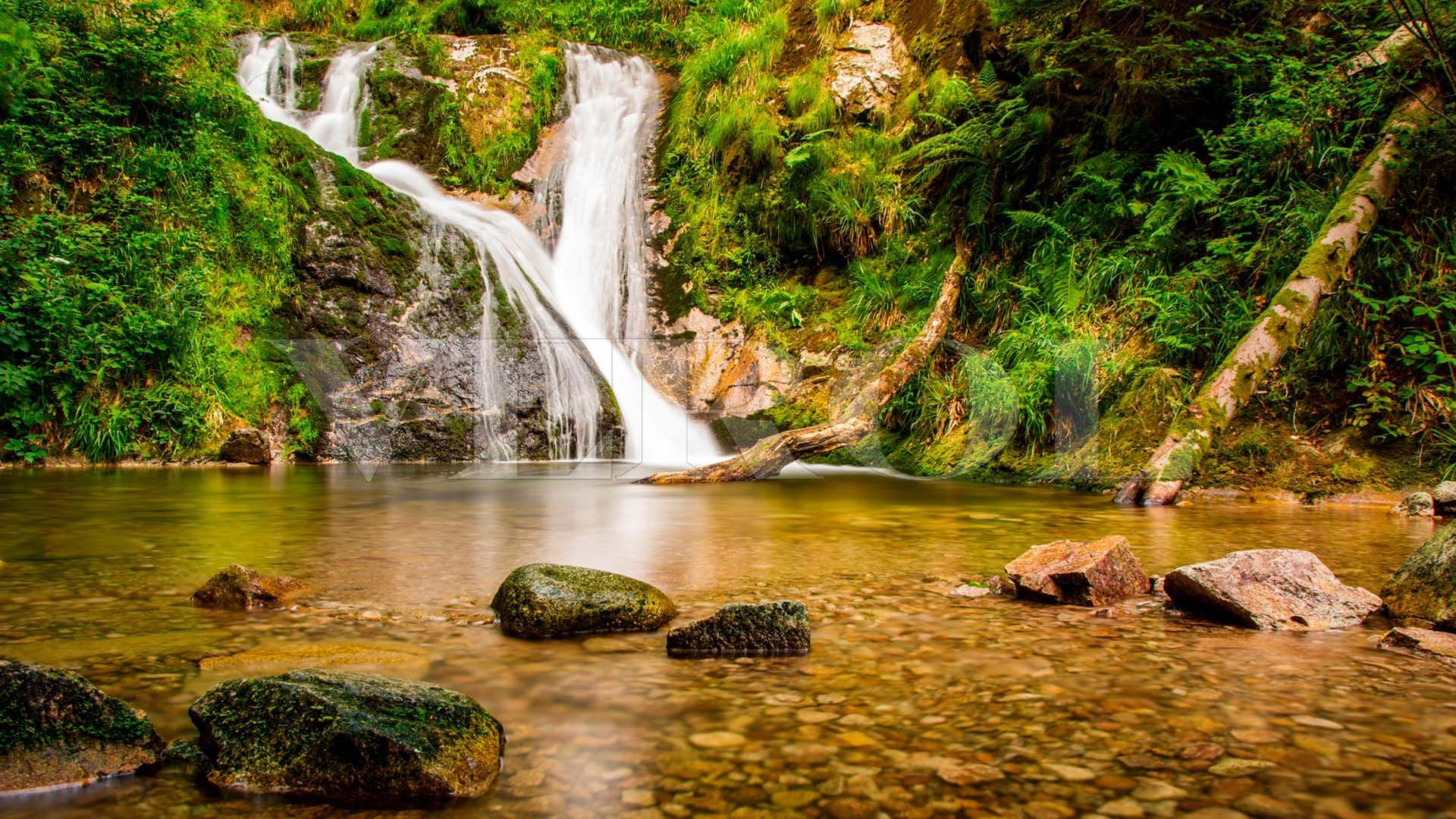 Pictures Of Mountain Streams And Waterfalls