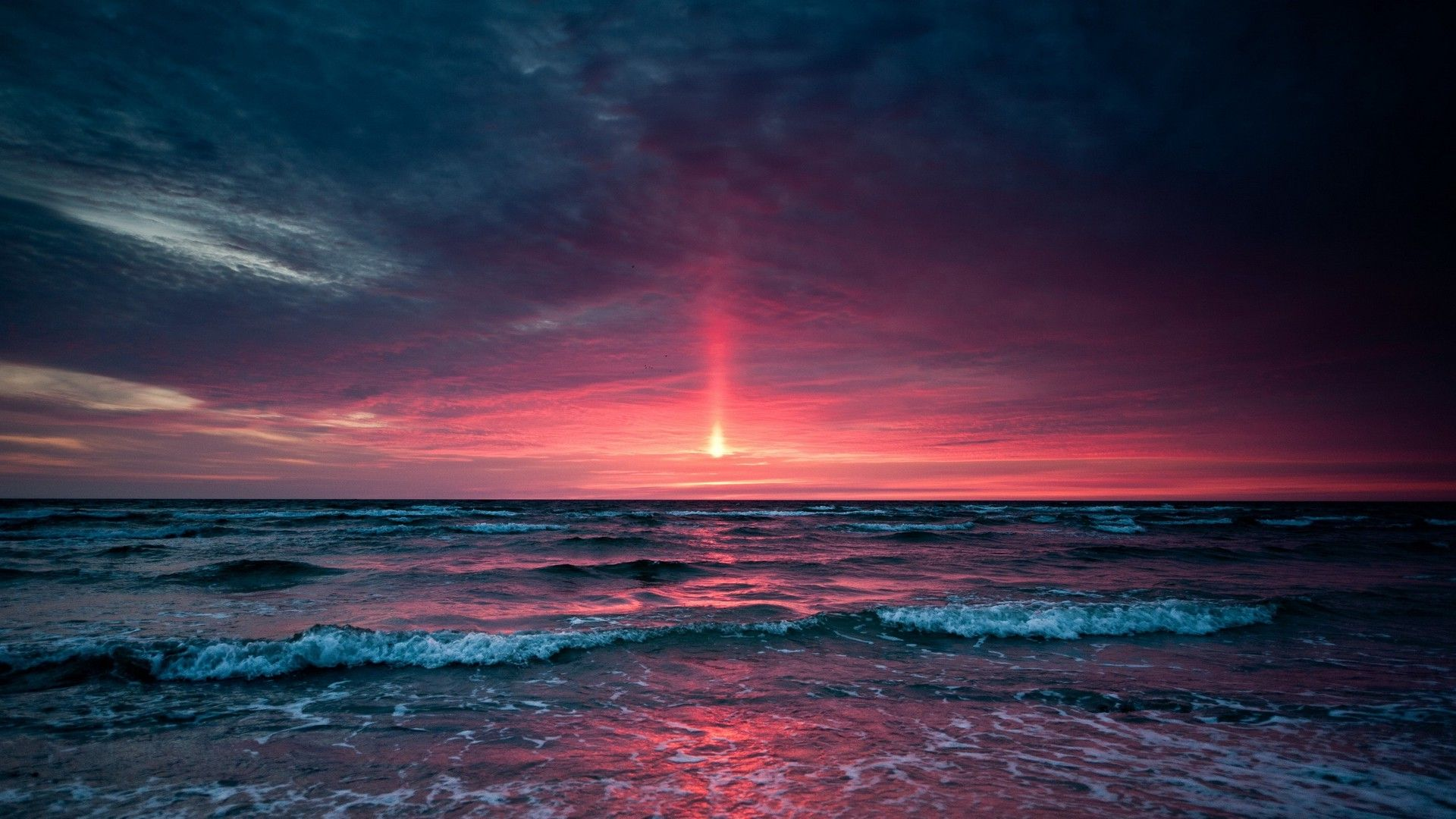 Pictures Of Sunset On The Sea