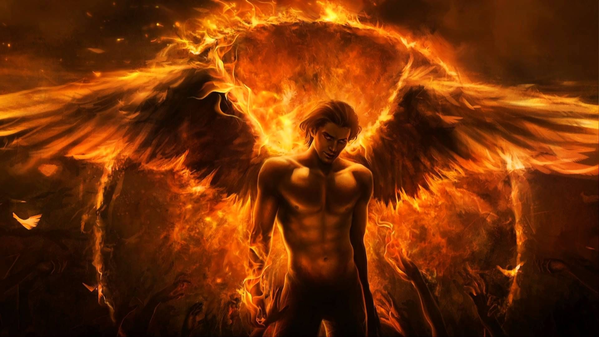 Pictures Of The Fiery Angel Guy