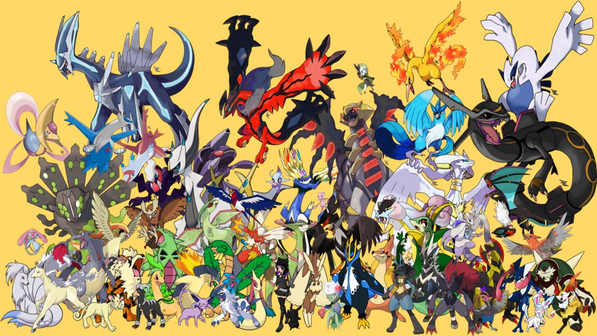 Pictures Of The Legendary Pokemon