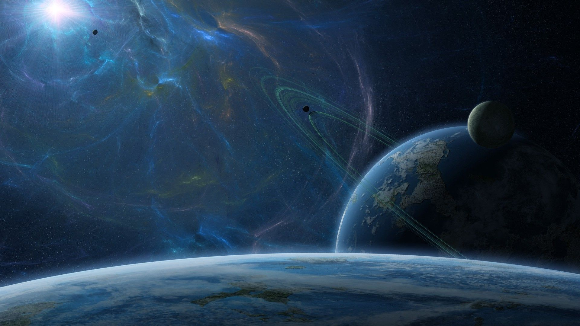 Pictures Space Fantasy Planet