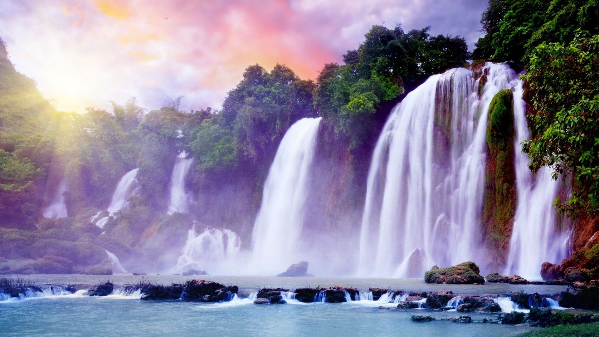 Pictures Waterfalls Beautiful
