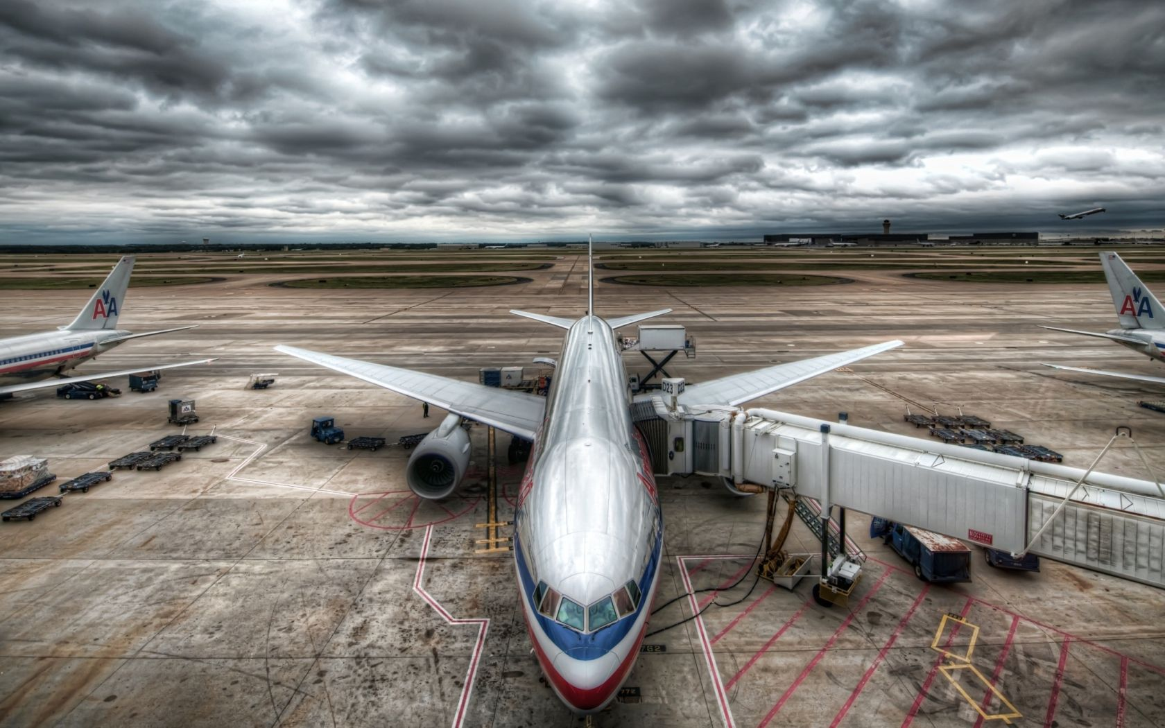Plane Sky Airport