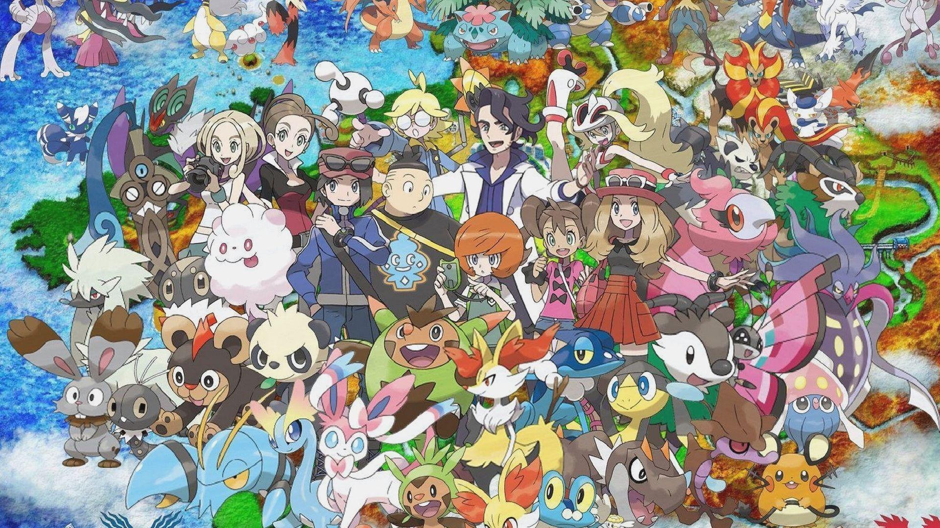 Pokemon Anime Poster