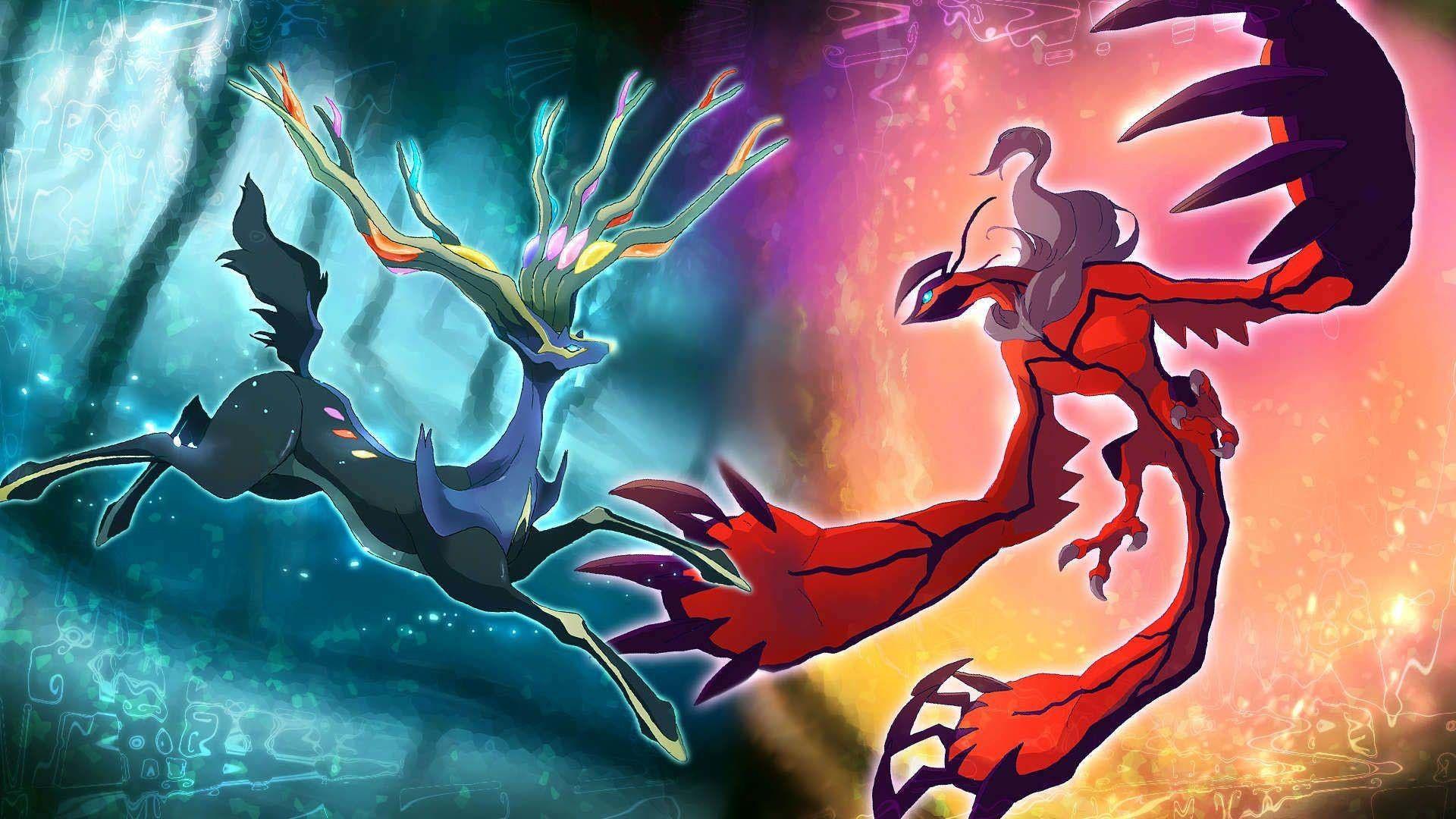 Pokemon Legendary Xerneas