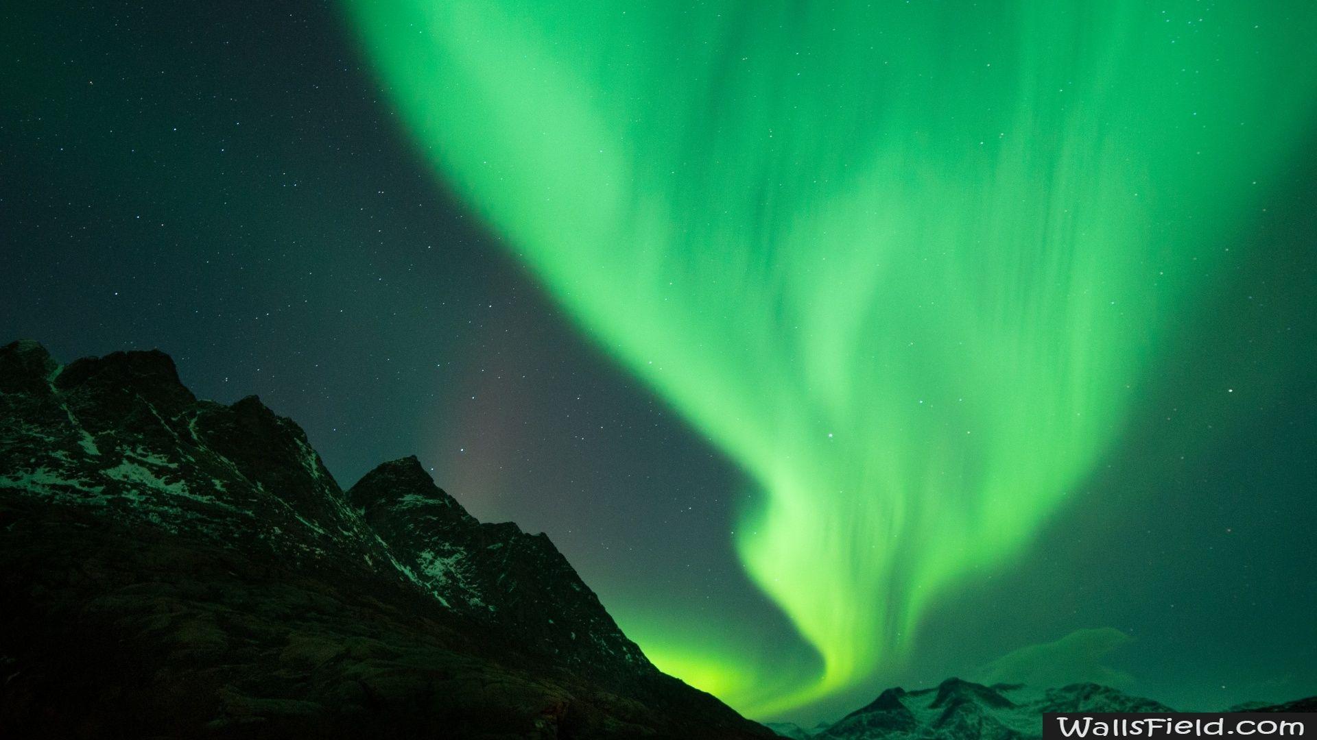 Polar Lights Photo Wallpaper