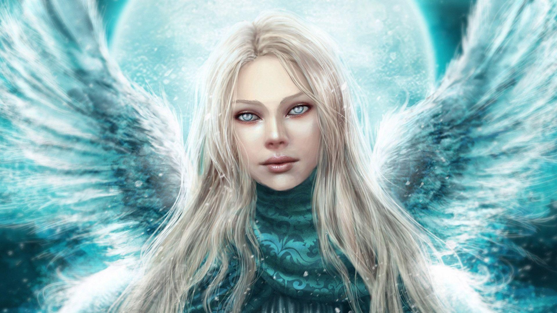 Portrait Of Angel Fantasy