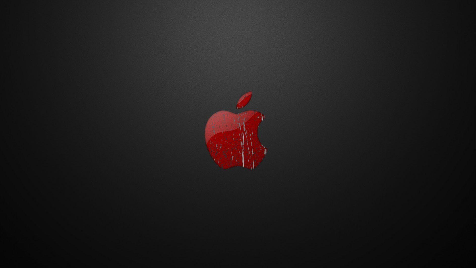Red Wallpaper Apple
