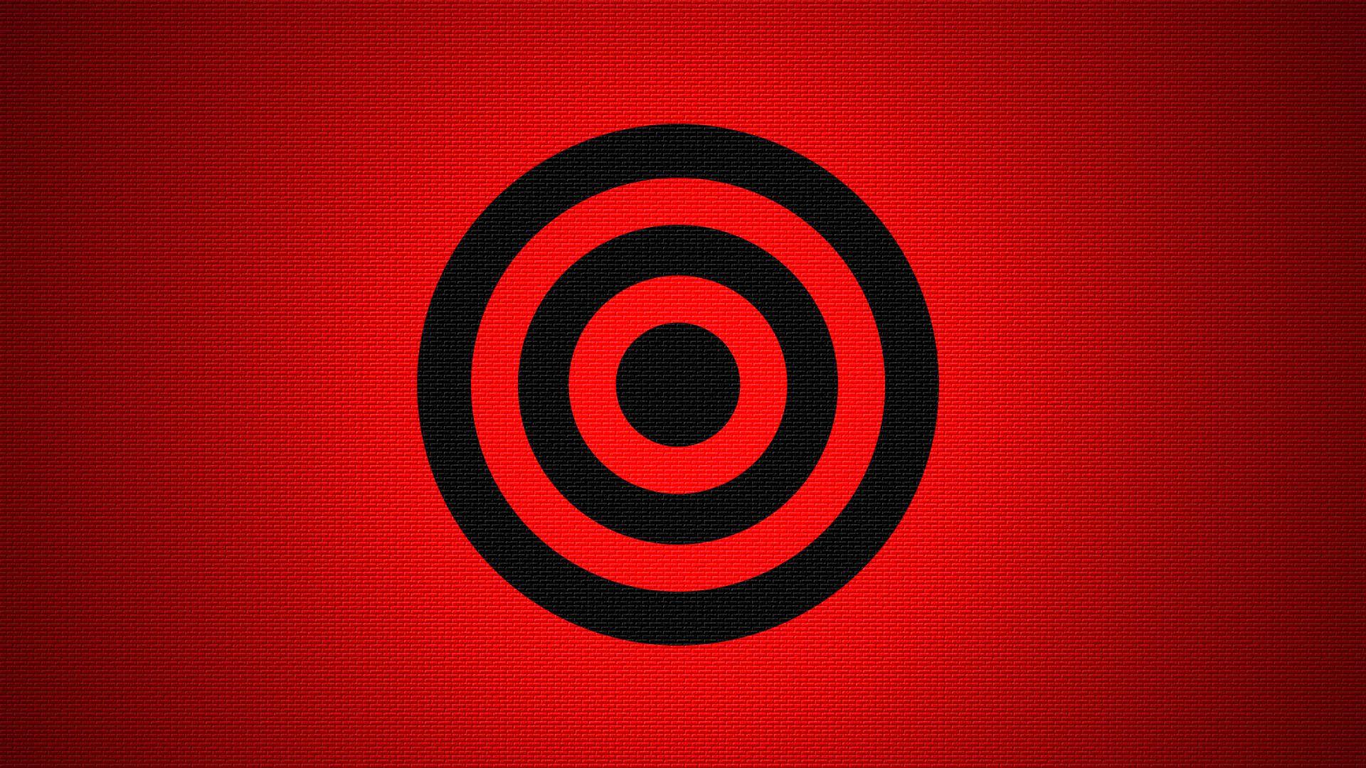 Red Black Circle