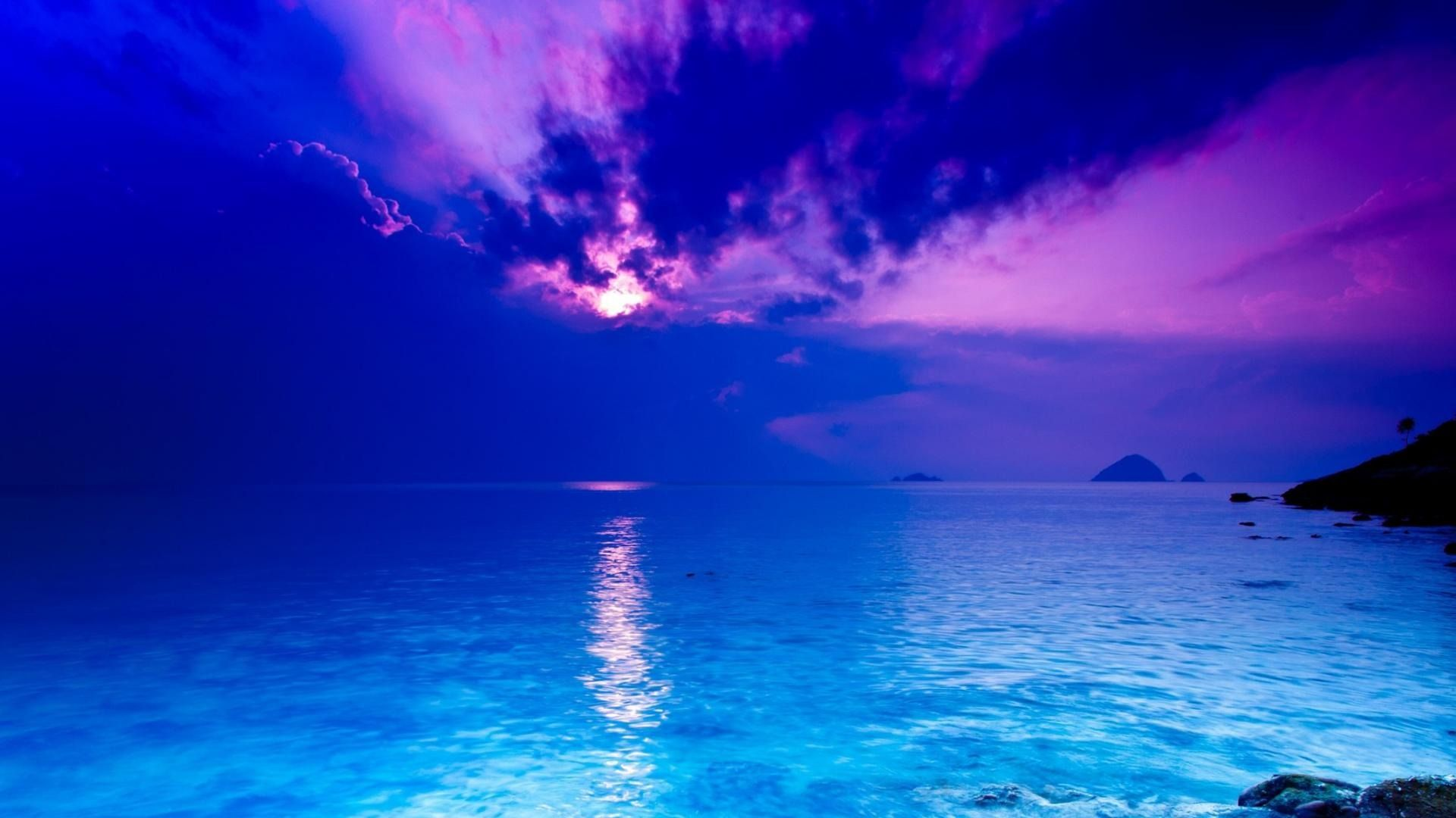 Screensaver Desktop Ocean Blue
