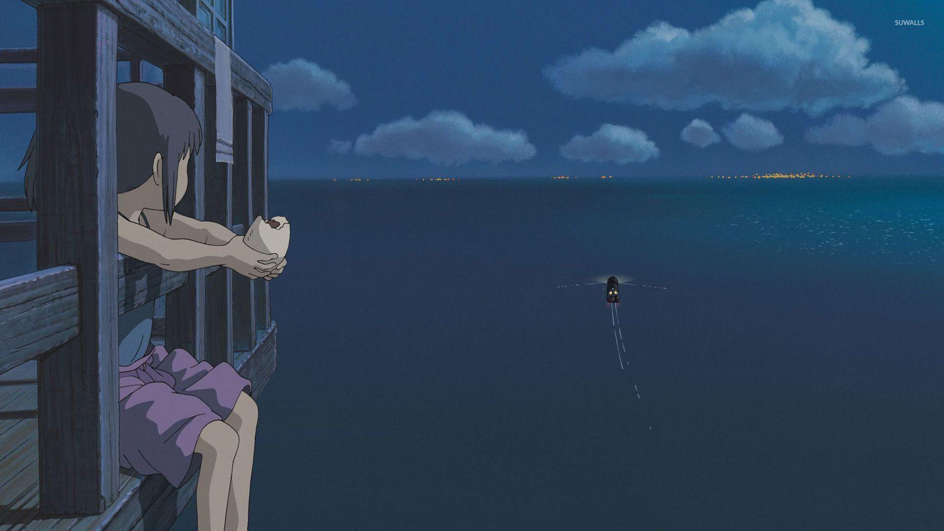 Screenshots From The Anime Spirited Away