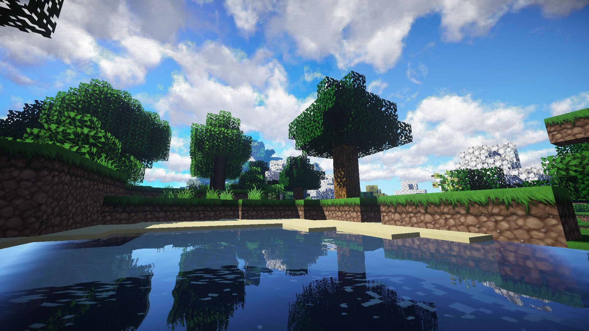 Screenshots Of Minecraft With Shaders