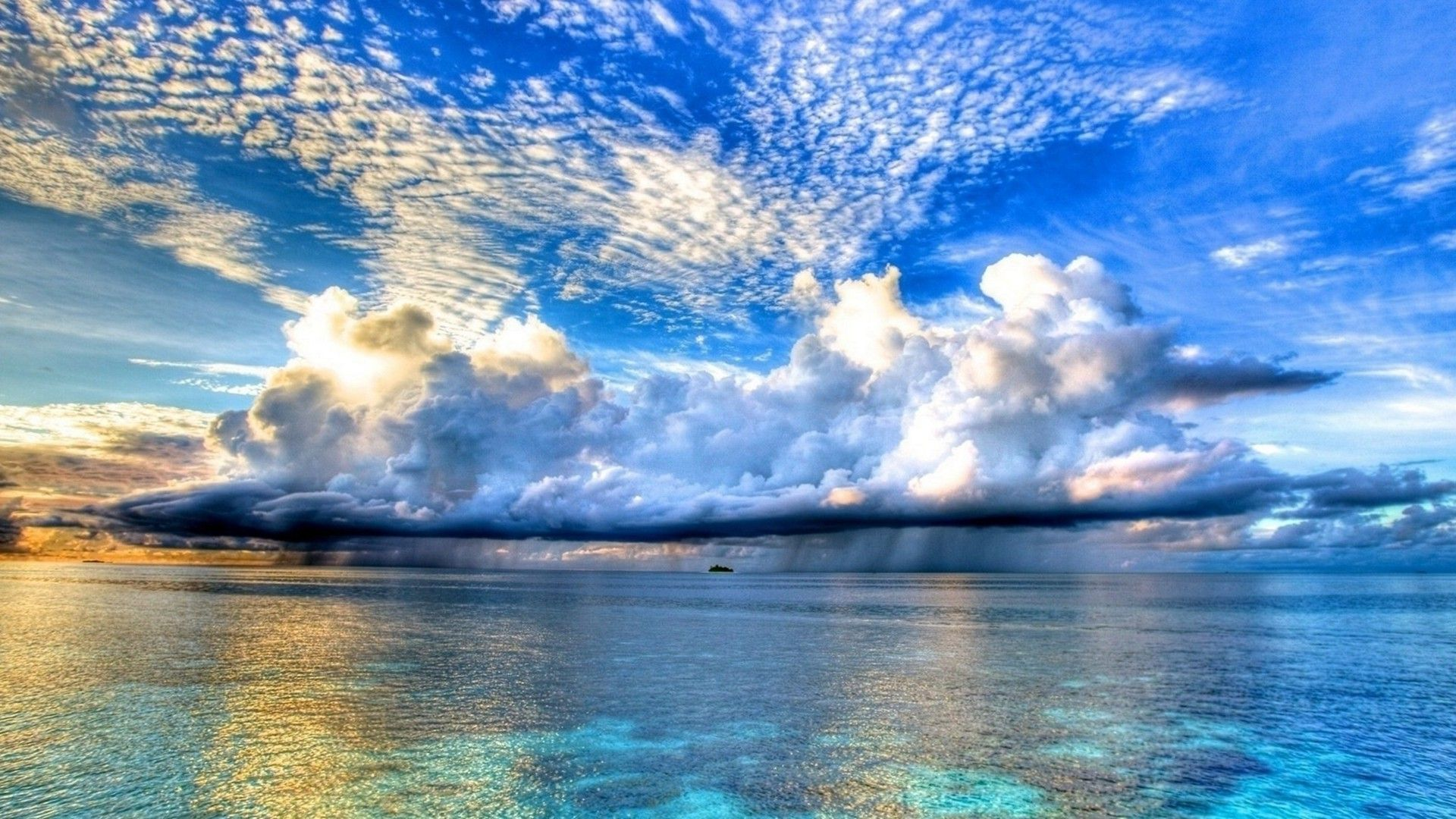 Sea And Clouds Pictures