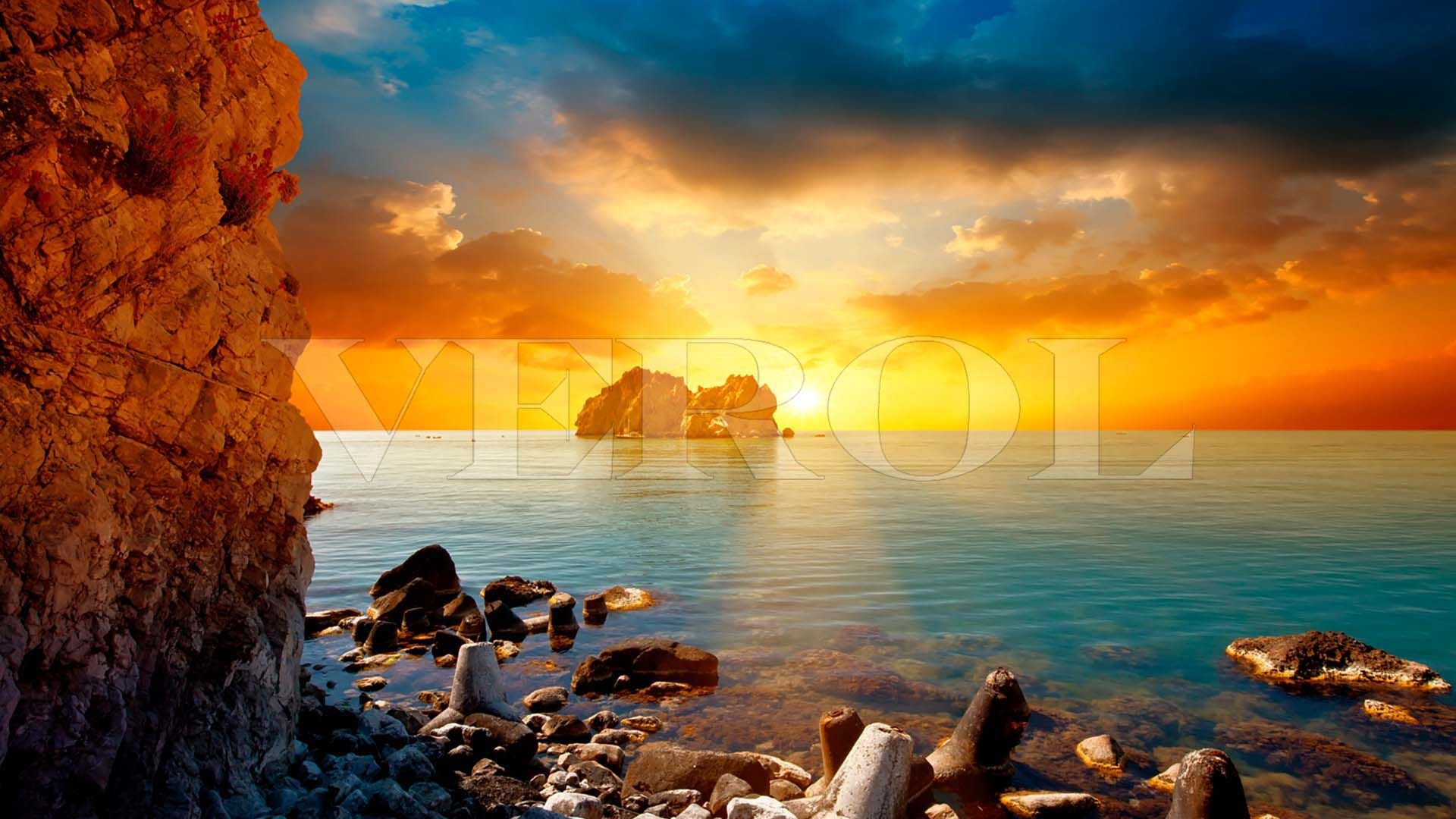 Sea Rocks Sunset