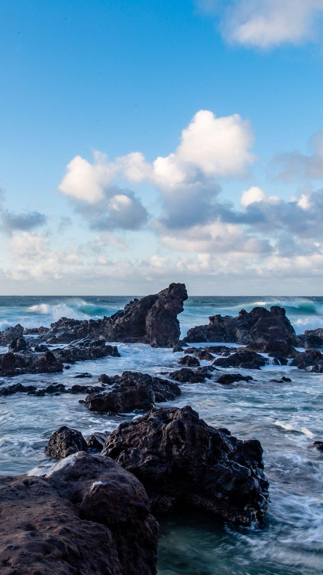 Sea Stones Rocks Ocean