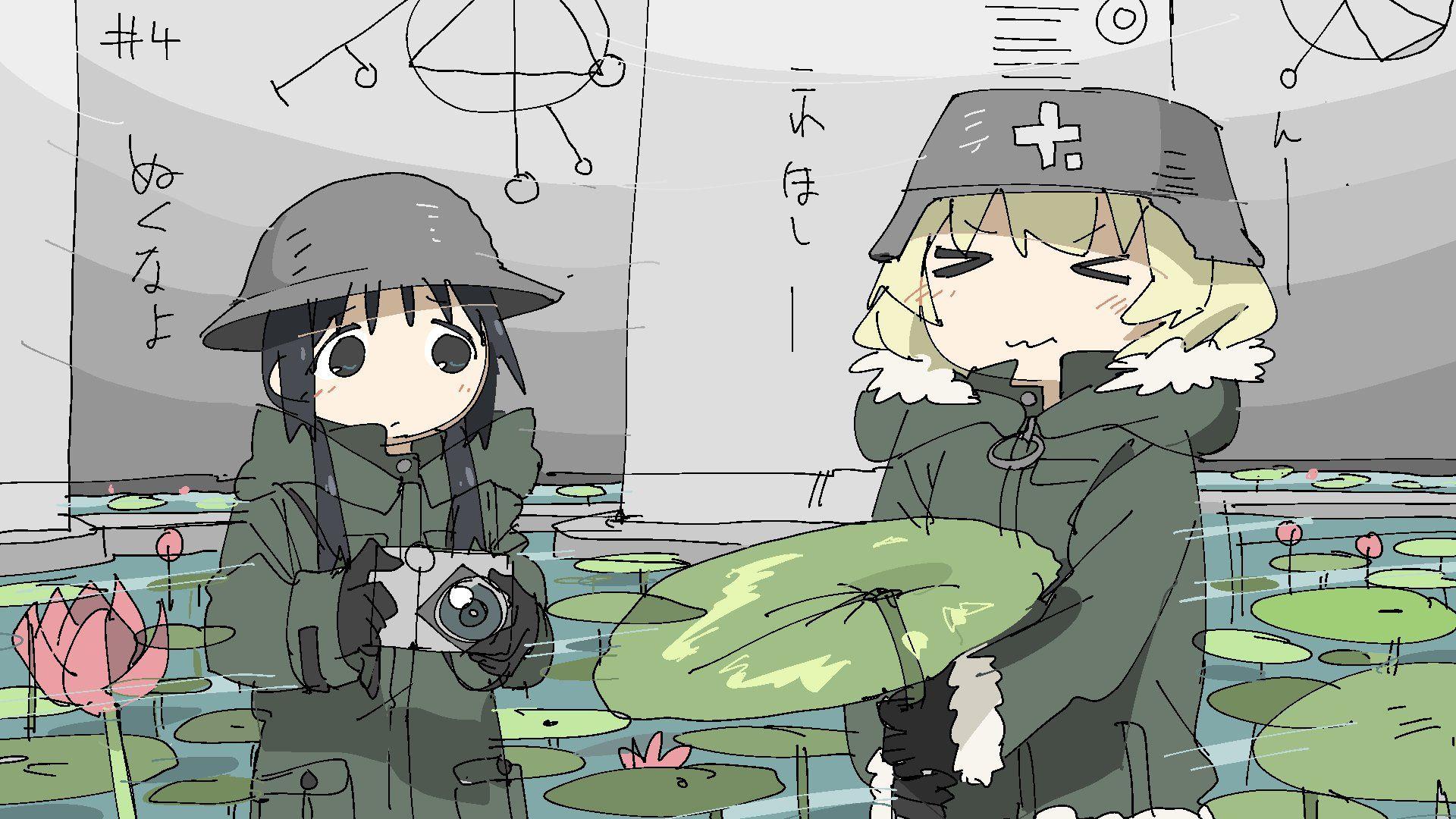 Shoujo Shuumatsu Ryokou Anime