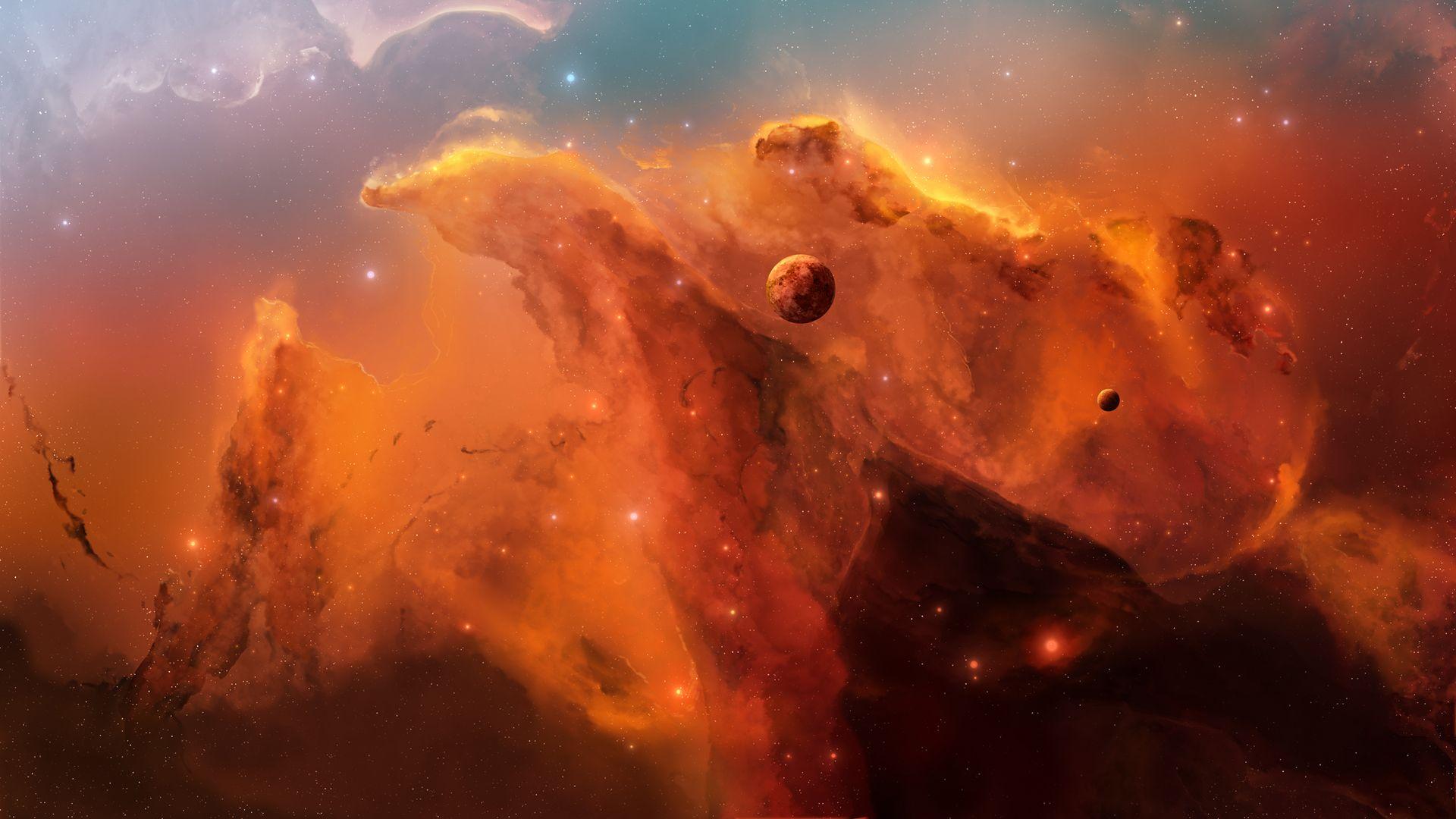 Space Nebula Wallpaper