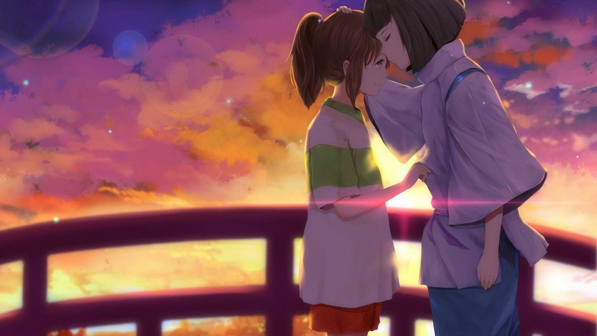 Spirited Away Haku And Chihiro