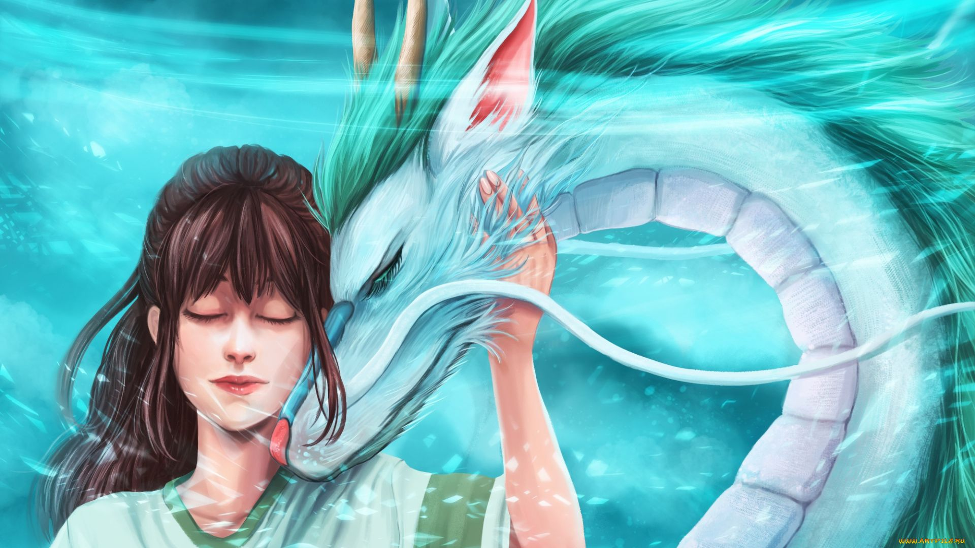 Spirited Away Wallpaper Dragon