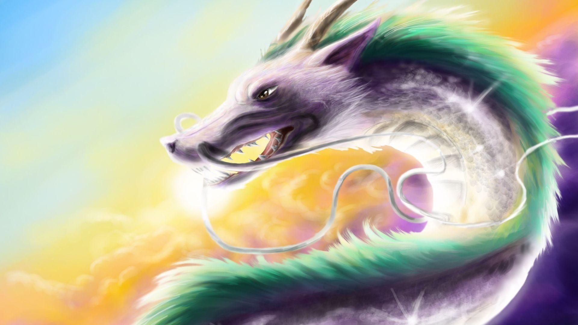 Spirited Away Dragon Art