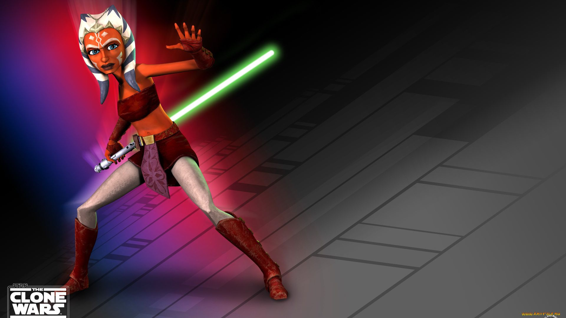 Star Wars The Clone Wars Ahsoka Tano 2