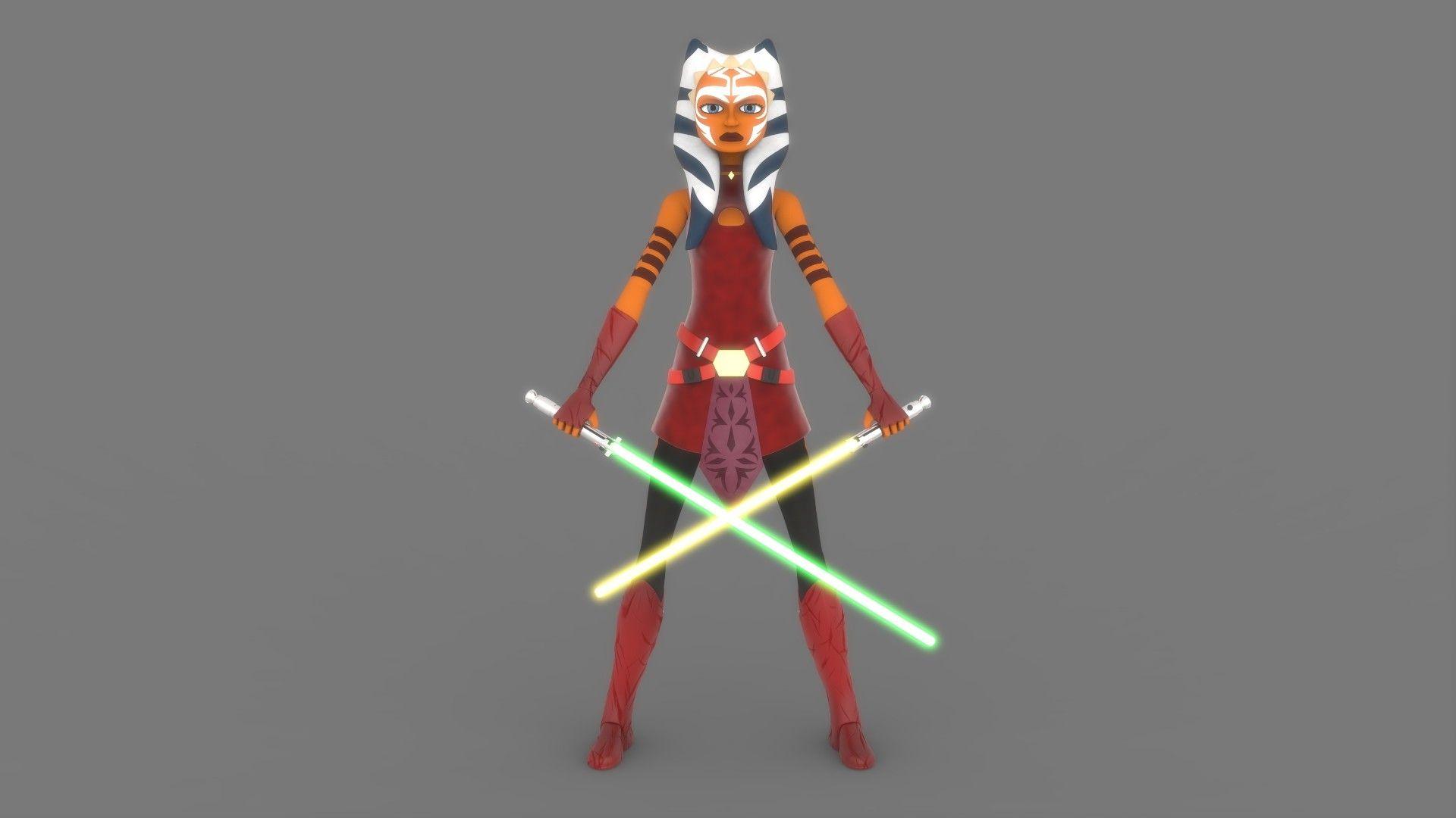 Star Wars The Clone Wars Ahsoka Tano