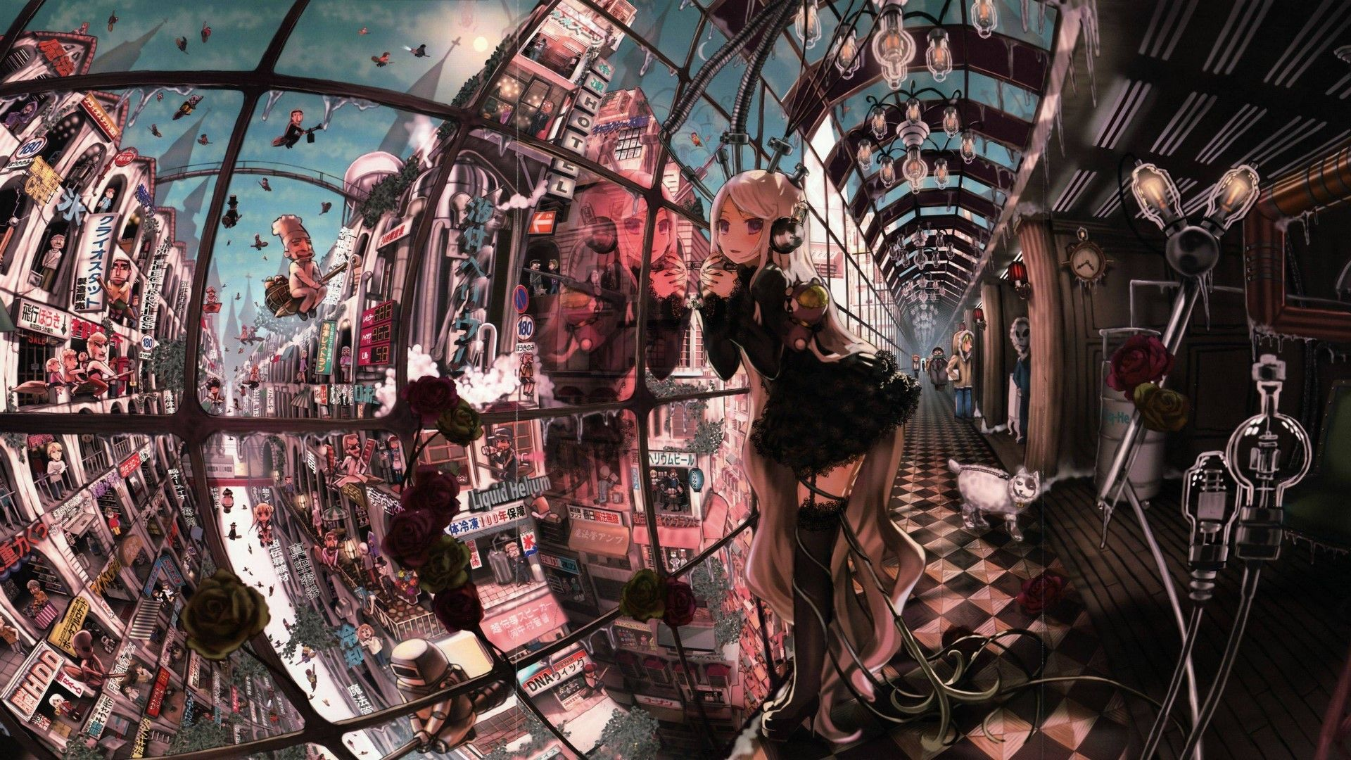 Steampunk Anime Wallpapers