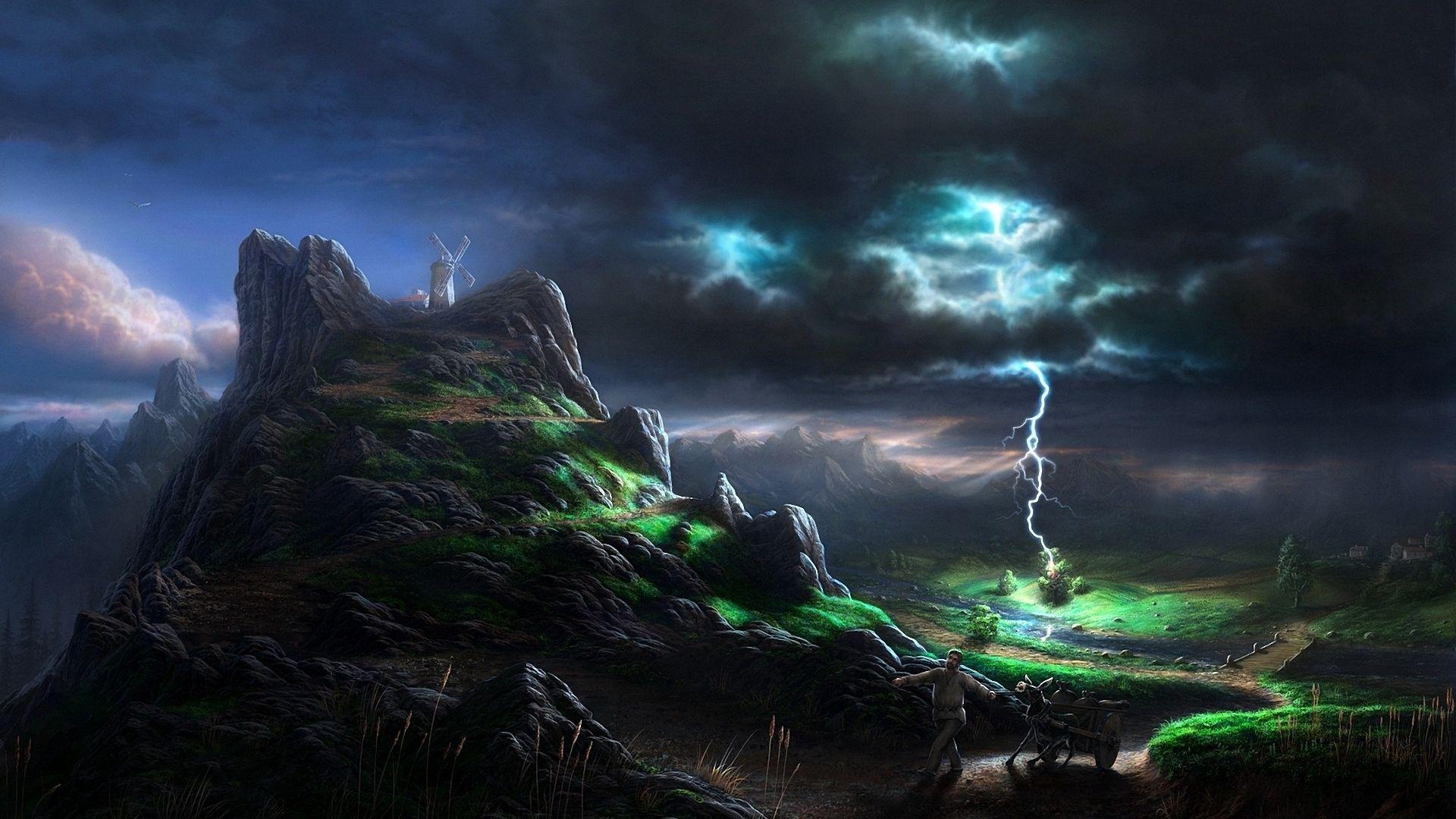 Storm Fantasy Art