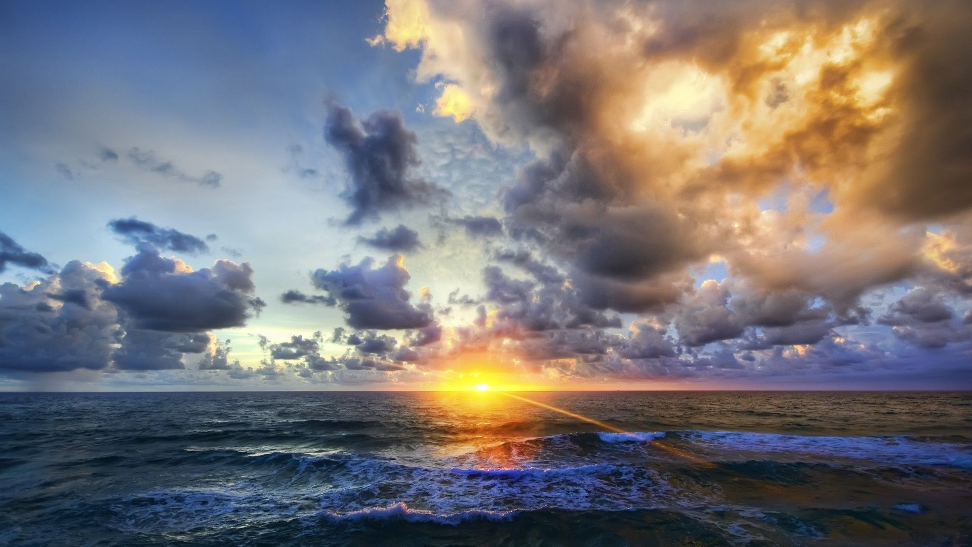 Sunrise On The Sea Pictures
