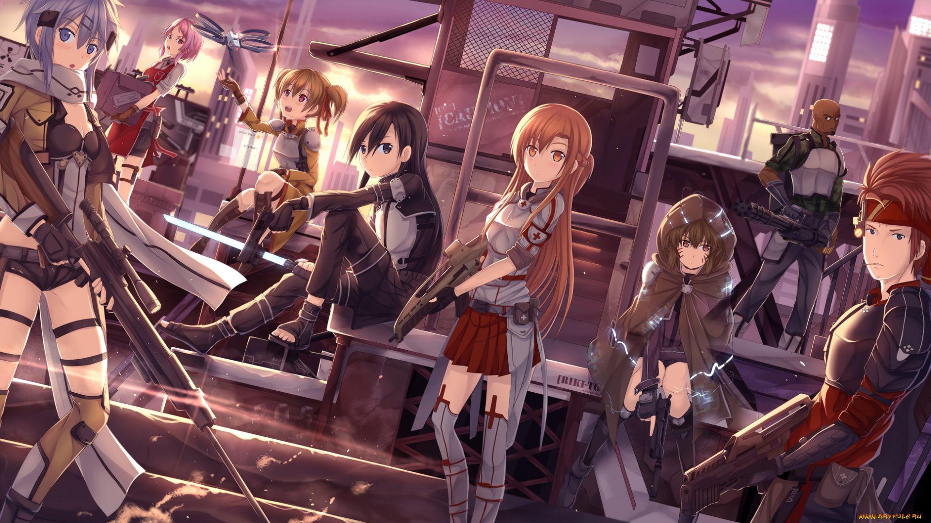 Sword Art Online Art