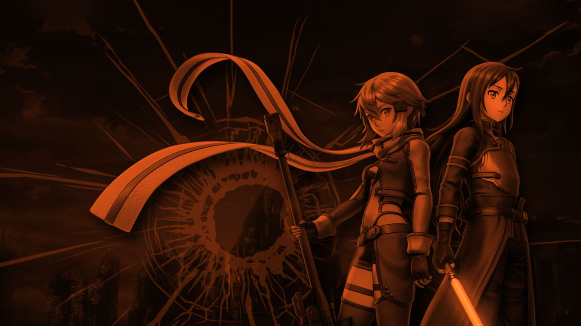 Sword Art Online Fatal Bullet Art