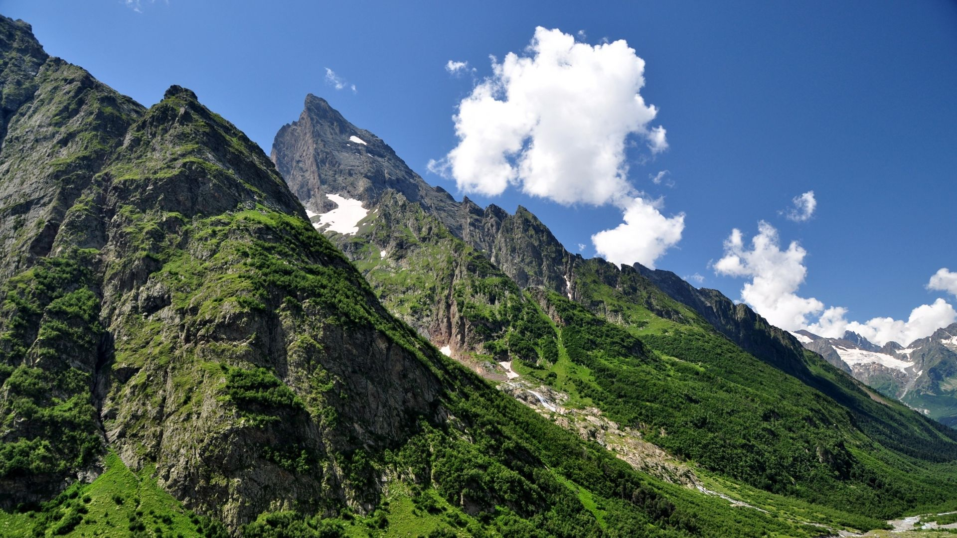 The Caucasus Mountains Wallpaper