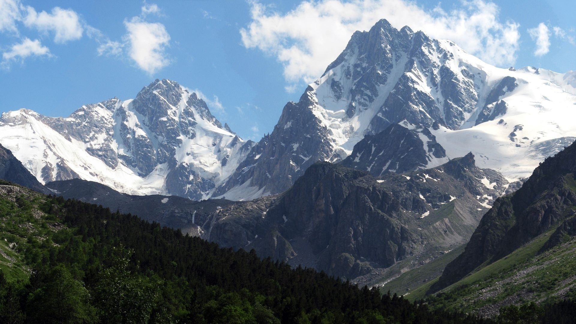 The Caucasus Mountains Pictures