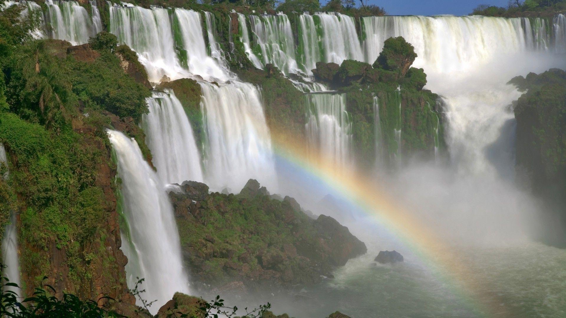 The Iguazu Falls Rainbow