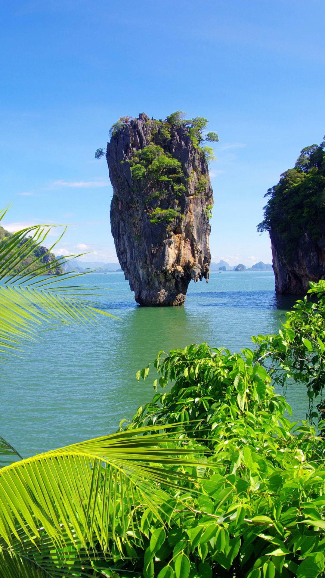 The James Bond Island In Thailand Photo