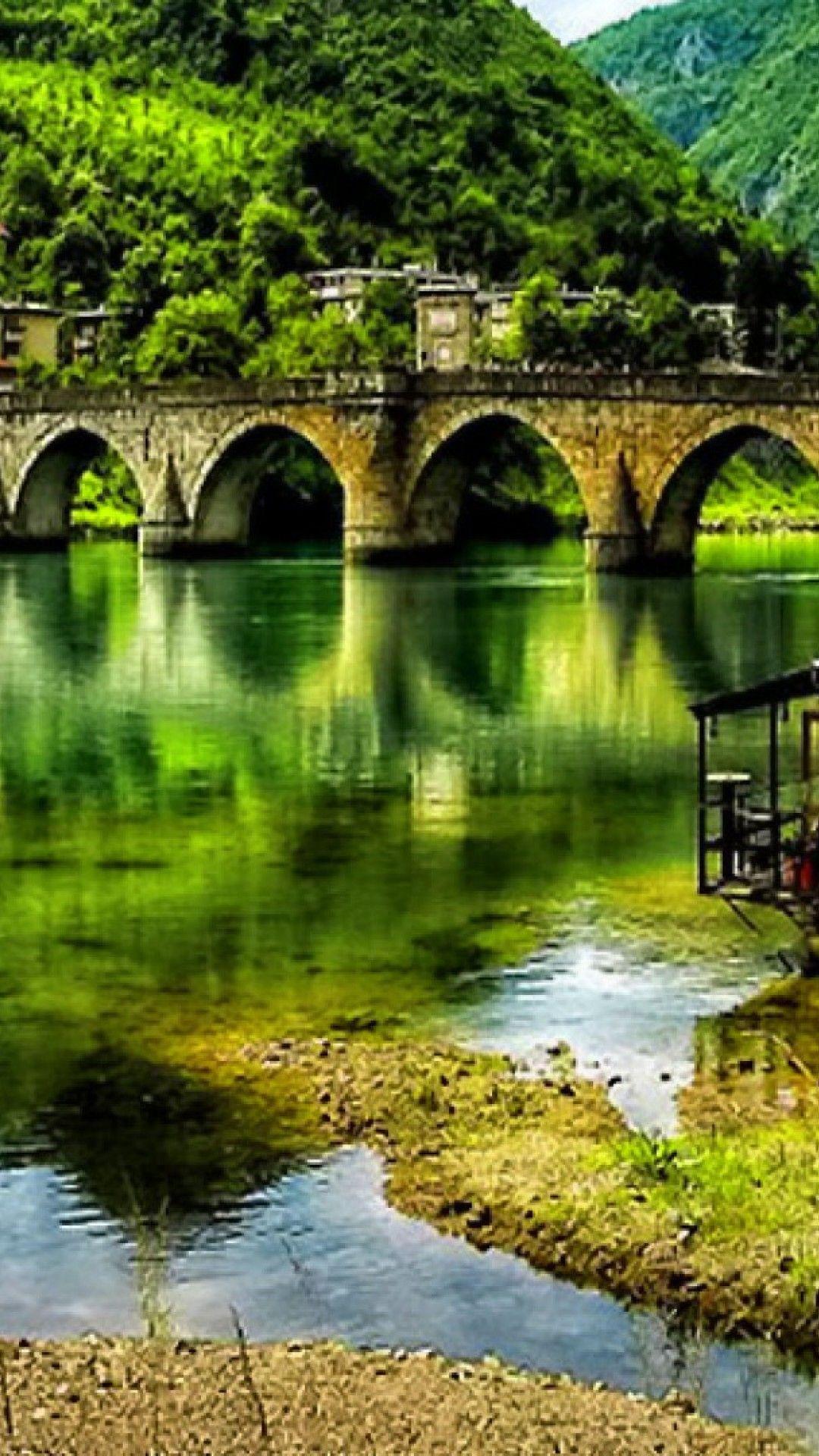 The Visegrad Bridge In Bosnia And Herzegovina