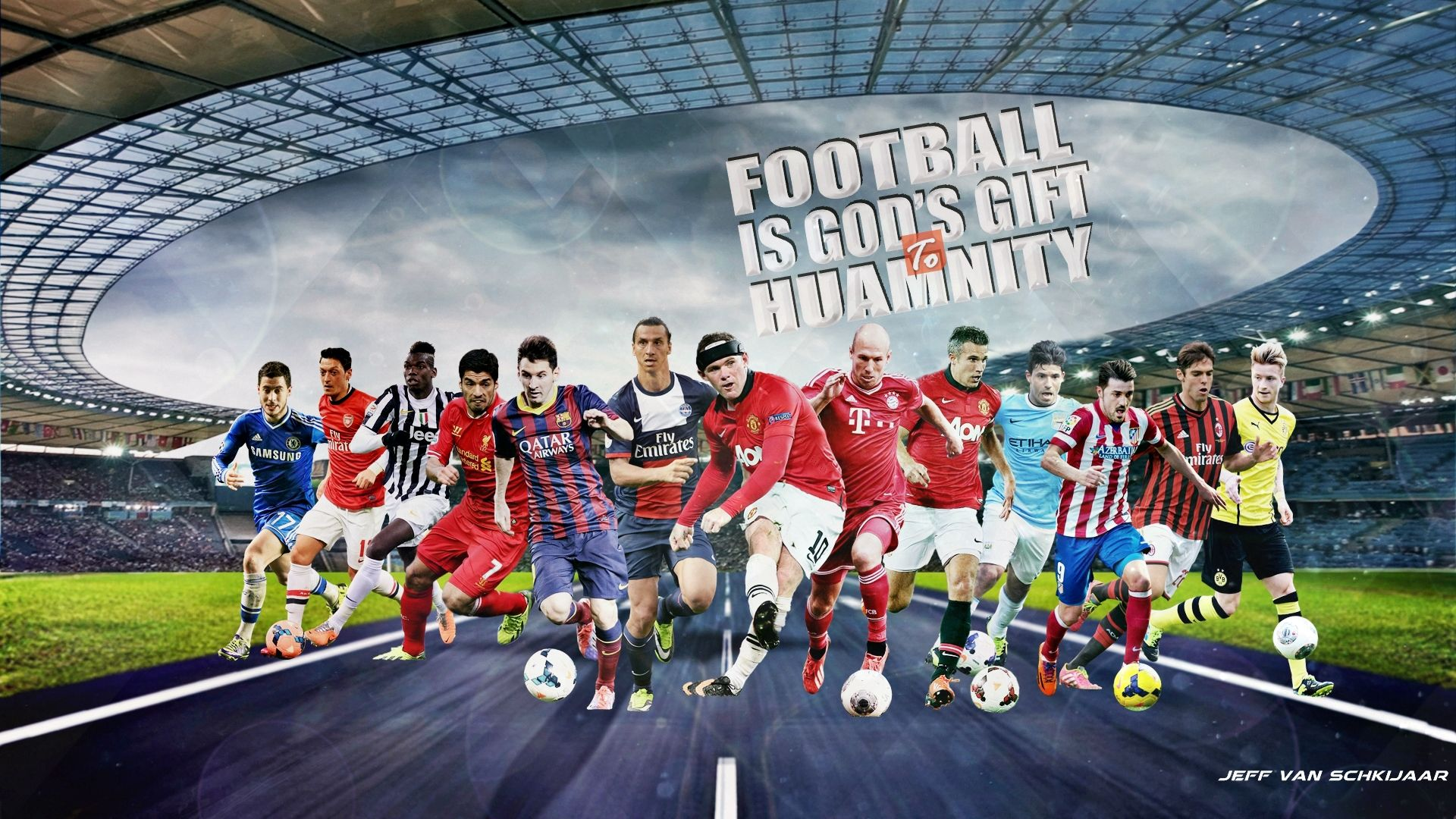 The Wallpapers Football