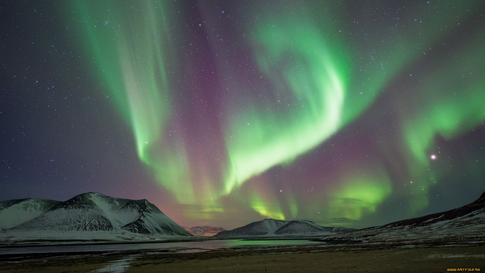 The Wallpapers Of Northern Lights