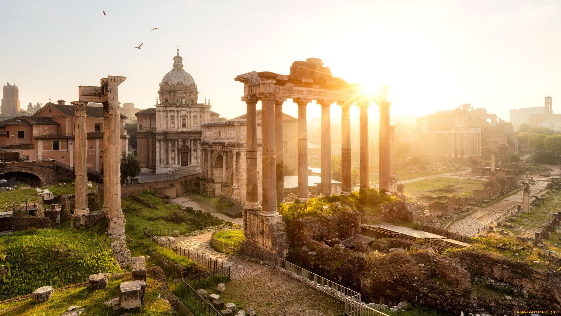 The Wallpapers Of Rome