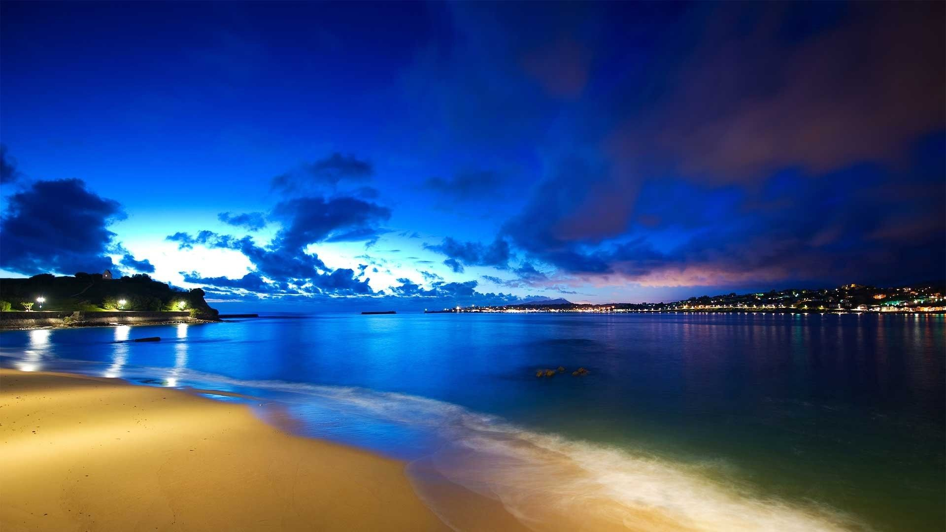 The Wallpapers Of Night Beach