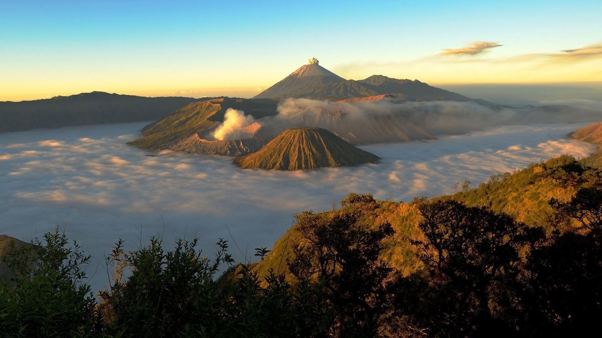The Bromo Volcano Bali